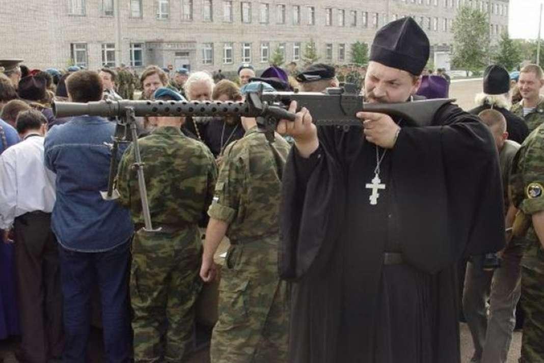 Свештениците – тајното оружје на војската