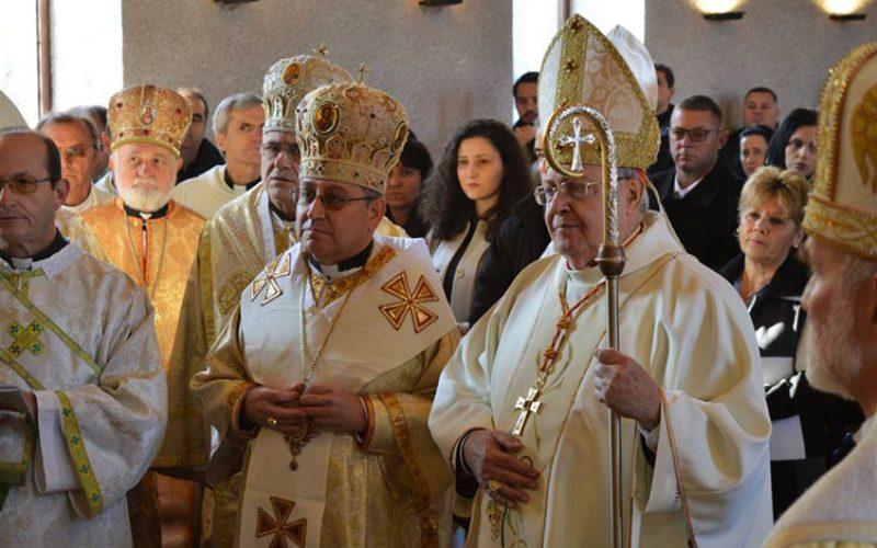 Бискупот Стојанов стана прв епарх на католиците со византиски обред во Македонија