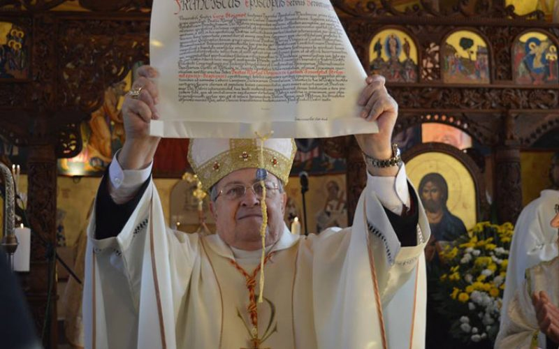 Што пишува во Декретот од Папата за струмичко-скопската епархија за верниците од византиски обред во Македонија?