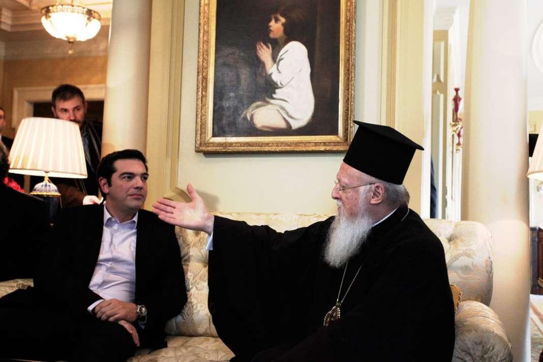 Грчкиот премиер задутре на средба со Вартоломеј – ќе биде ли автокефалноста на МПЦ на маса?