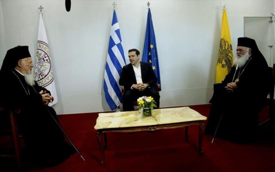 Вселенскиот патријарх Вартоломеј ќе оди на средба со Ципрас и со грчкиот Архиепископ