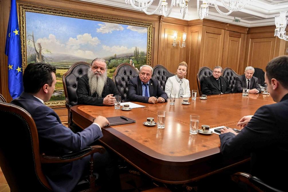 Поглаварите на верските заедници го поздравија протоколот за членство во НАТО