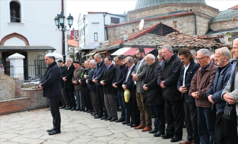 Погребна молитва во отсуство за жртвите во терористичкиот напад во Нов Зеланд во Скопје