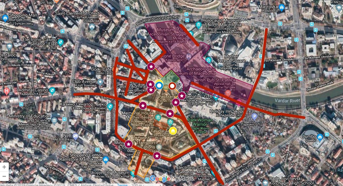 ВАЖНО: Прочитајте каде можете, а каде не можете да се движите за време на посетата на Папата