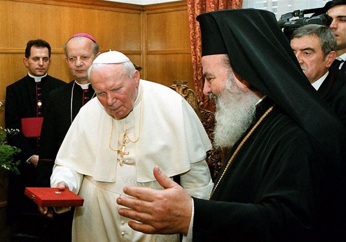Двајца поглавари на Католичката црква ја посетиле Грција