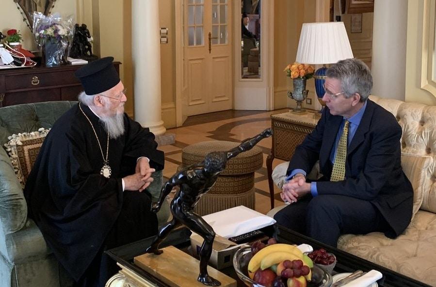 САД ветува силна поддршка на Вселенскиот патријарх Вартоломеј