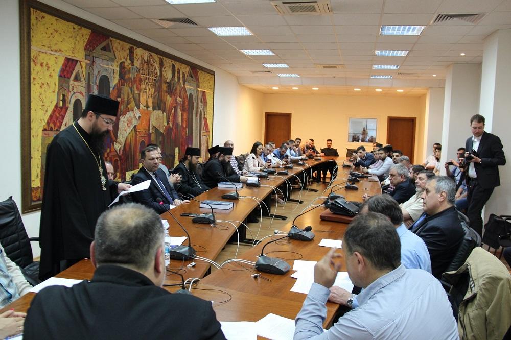 Владиката Јосиф одбрани докторат во  Бугарија, присуствуваше и министерот Спасовски