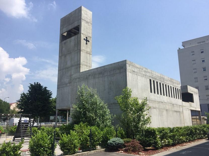 Во Загреб при крај изградбата на првата црква на МПЦ во регионот
