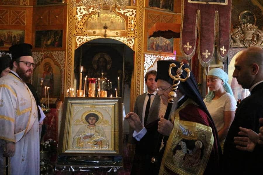 Вартоломеј служеше во рускиот манастир на Света Гора
