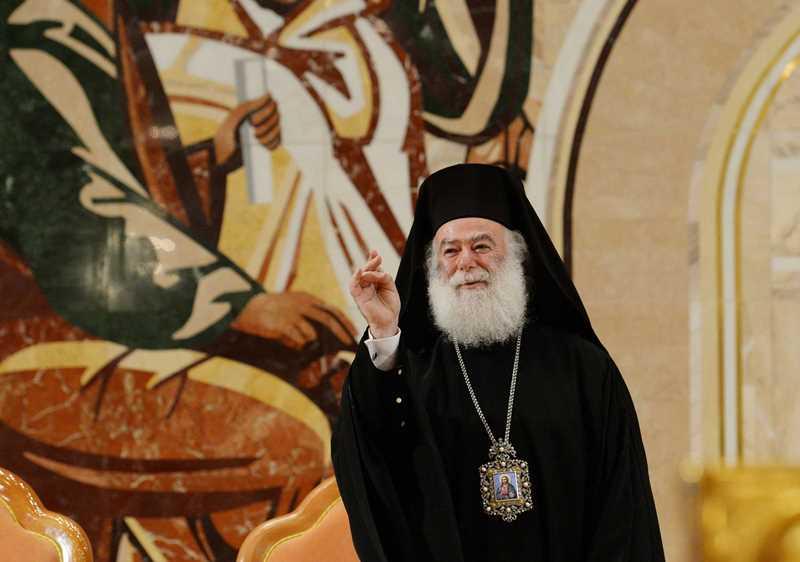 """Александрискиот патријарх: """"После нашето признавање, започнува решавањето на проблемот во Украина"""""""