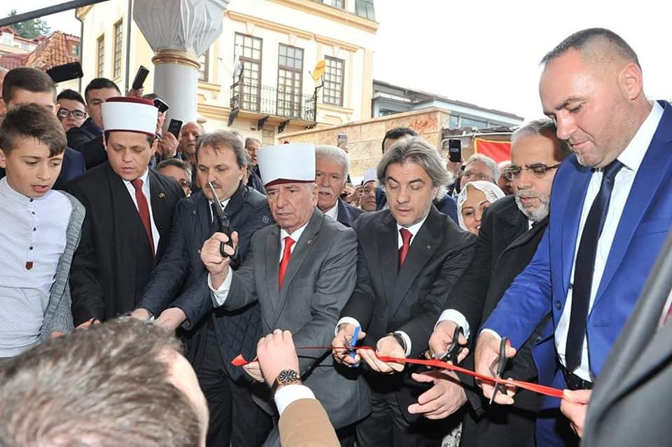 Прсечена црвената лента за Алипашината џамија
