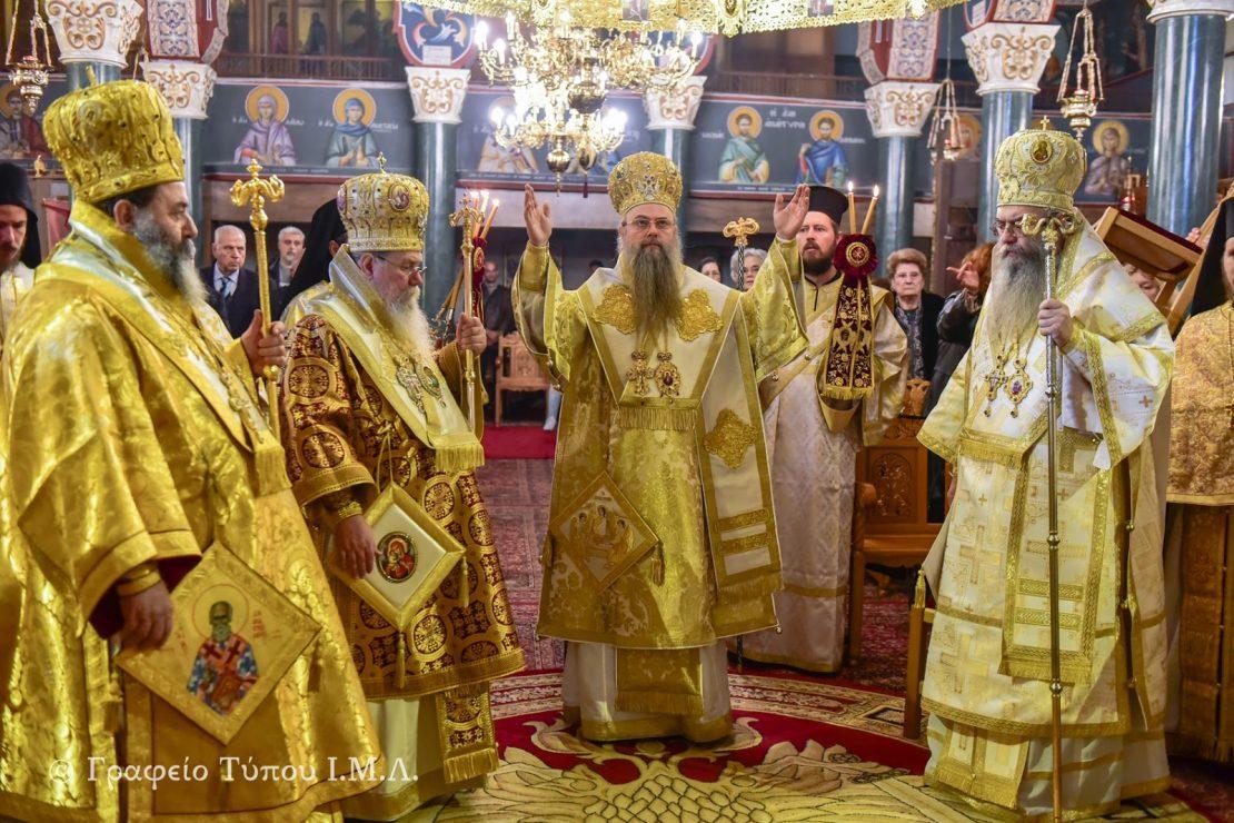Пловдискиот митрополит Николај служеше литургија на која беше спомнат укрианскиот поглавар Епифаниј