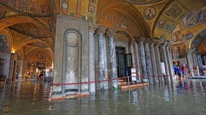 """Штетата на црквата """"Свети Марко"""" во Венеција проценета на пет милиони евра"""