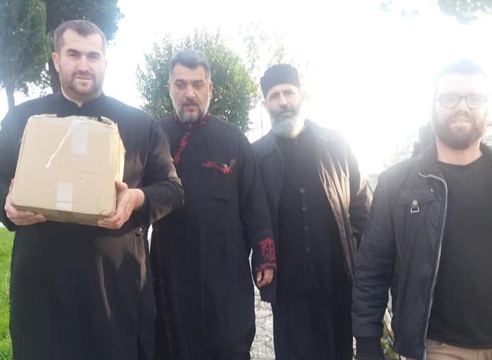 """По вторпат помош од хуманитарната организација """"Свети Спас"""" пристигна во манастирот """"Свети Власиј""""-Драч"""