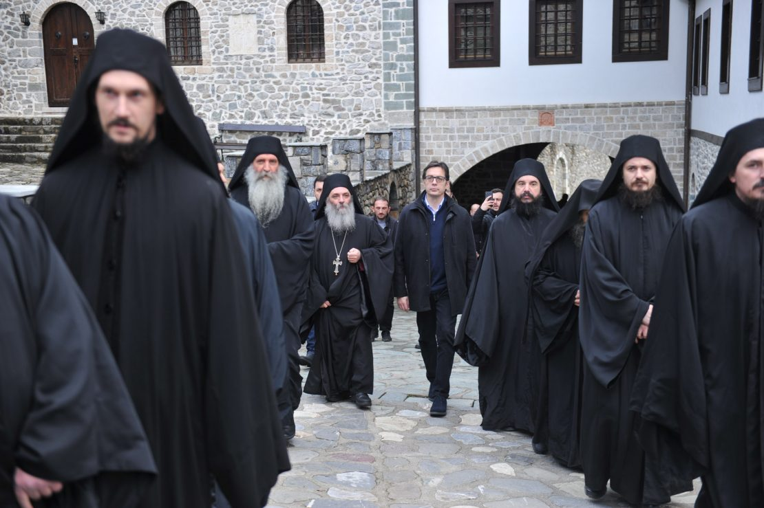 """Претседателот Пендаровски во Бигорски: """"Ако не ги почитуваме корените, нема да имаме иднина"""""""