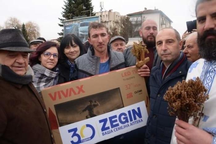Горан Вангелов прв до светиот крст во Берово