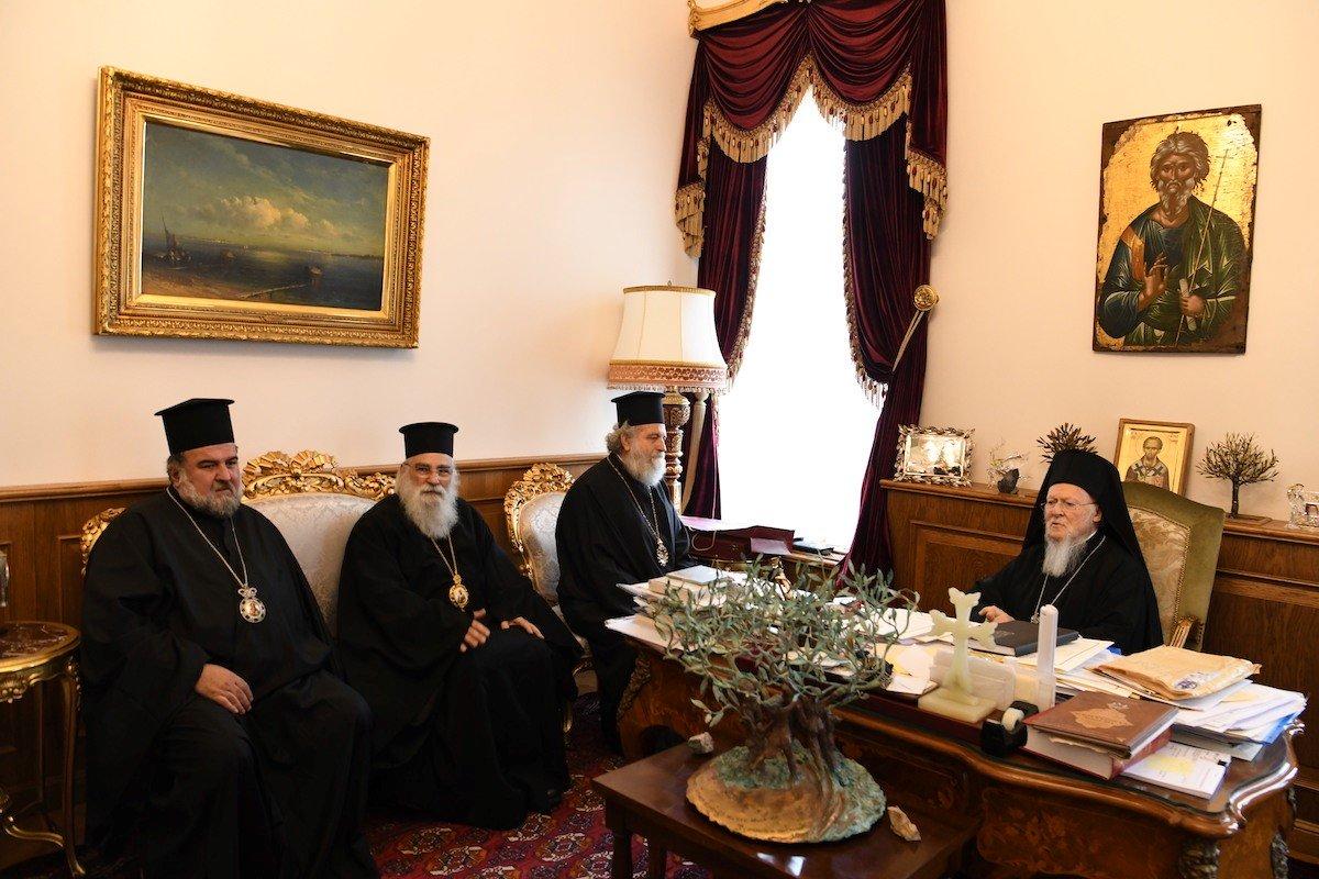 Ексклузивно: Разговорите при средбата на Ерусалимјаните со Вселенскиот патријарх