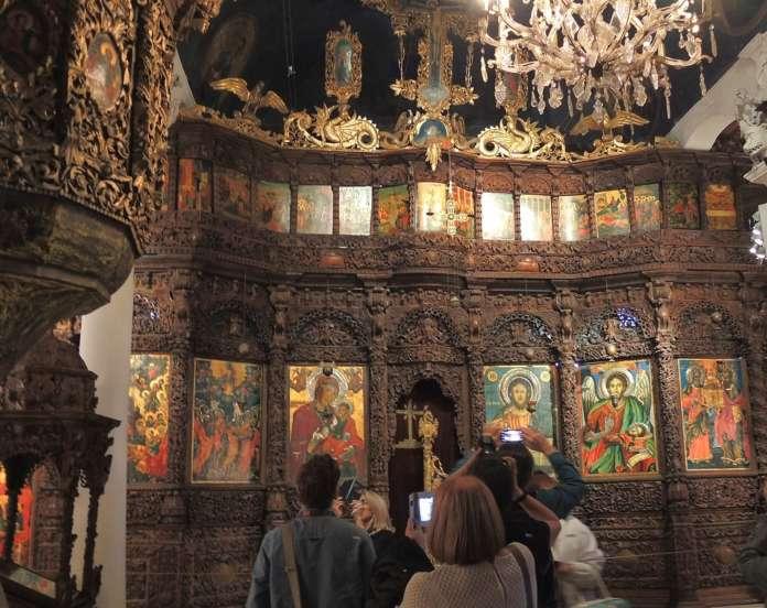"""Францускиот маршал бил воодушевен од иконостасот во црквата """"Св. Спас"""""""