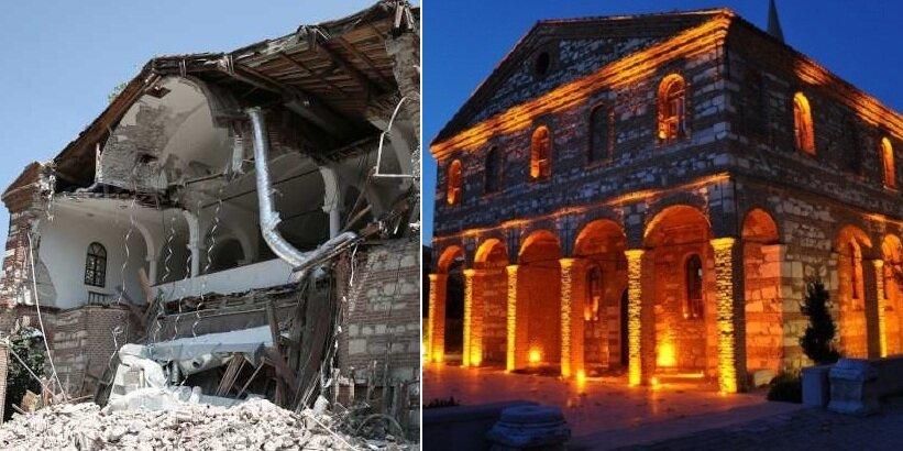 """Урната грчката црква """"Аја Софија"""" во Бурса"""