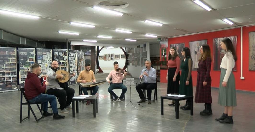 Возобновени коледарски песни првпат за Василица во Бигорскиот манастир
