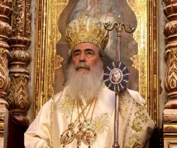 Ерусалимскиот Патријарх Теофил одбегна да одговори кого поддржува во украинскиот црковен спор