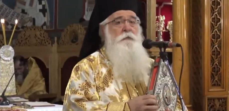 """Митрополит на Димитријада: Нема пофарисејски став од оној на """"добрите христијани"""" што не носат маска"""