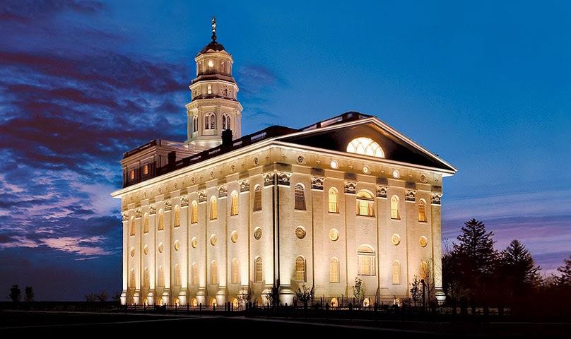Храмот Науво во Илиноис – Црквата на Исус Христос, судниот дент ( Изградена е 2002 година)