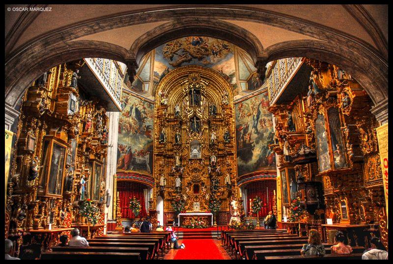 Ла Ененанзе Црква во Мексико Сити, Мексико – Римокатоличка црква (Позната е како црква на Пресвета Богородица. Изградена е 1778 година.)