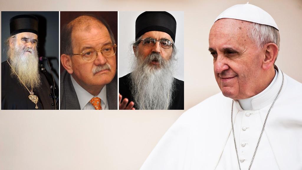 Тајна посета на СПЦ на Ватикан