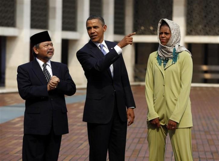 Обама в среда во Џамија