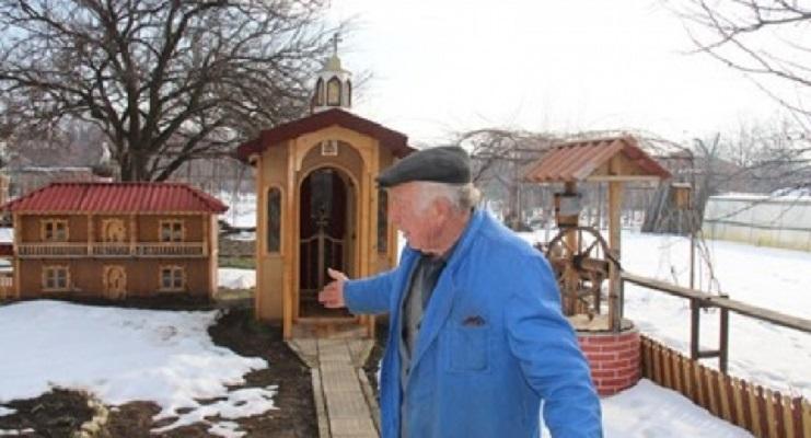Зошто овој бугарски пензионер си изградил црква во дворот?