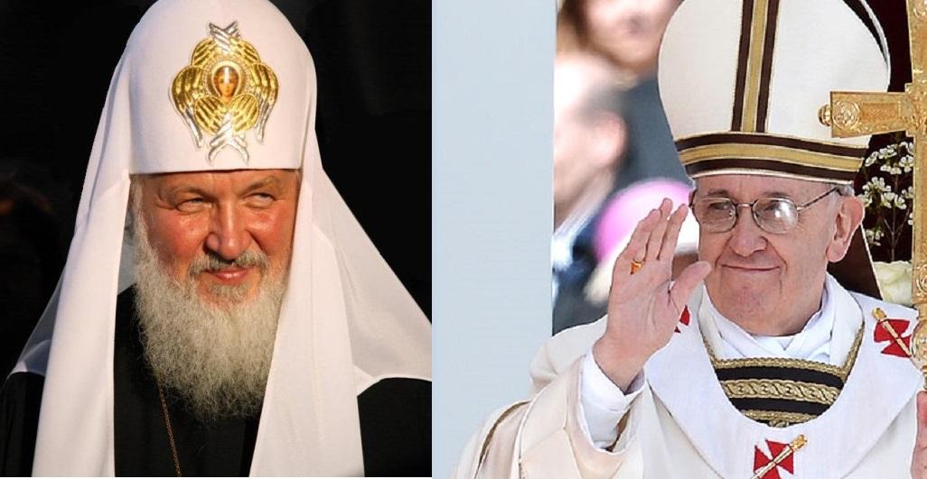 Папата и Рускиот патријарх на историска средба во Куба