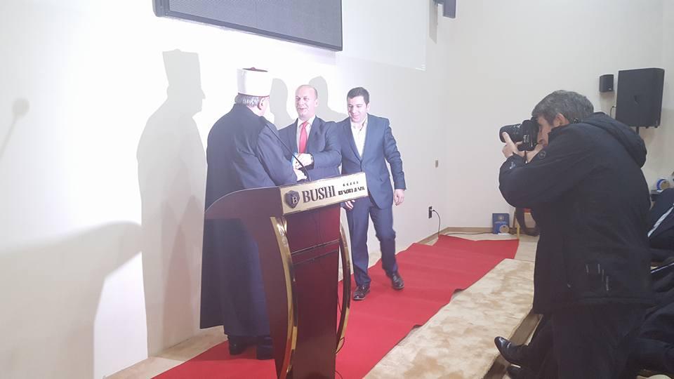 Поглаварот Реџепи доби признание за најдобар духовен водач
