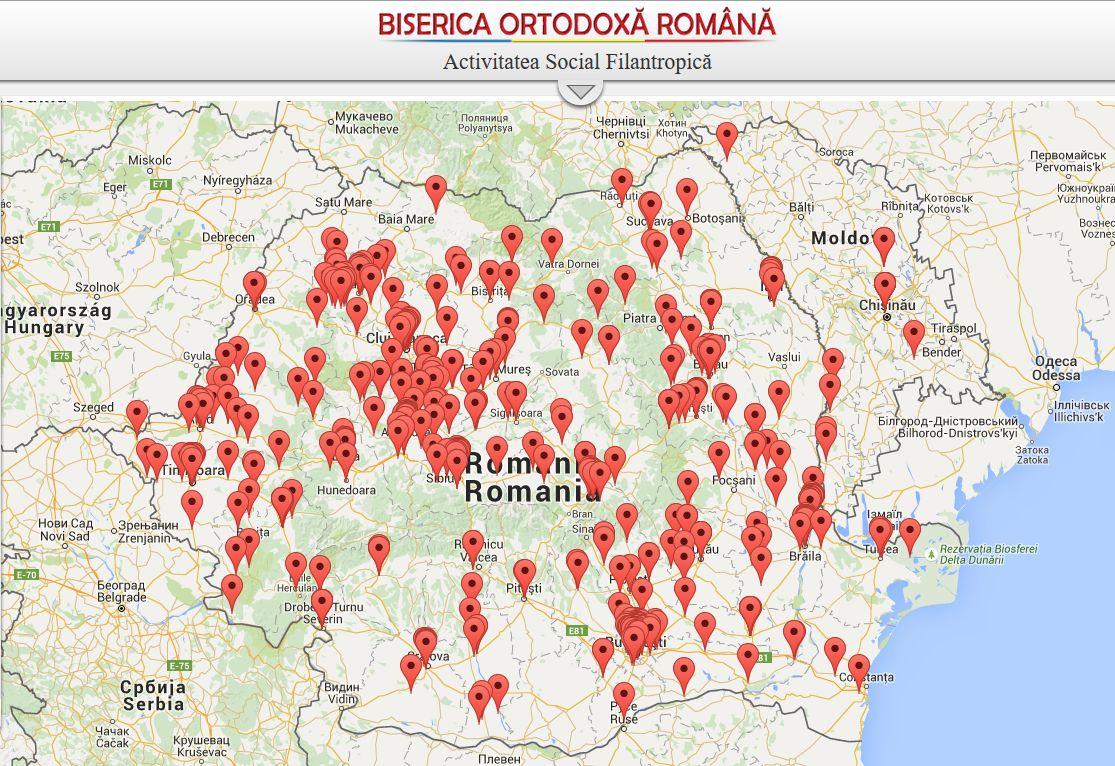 Романската црква на интерактивна мапа ги обележа сите социјални пунктови