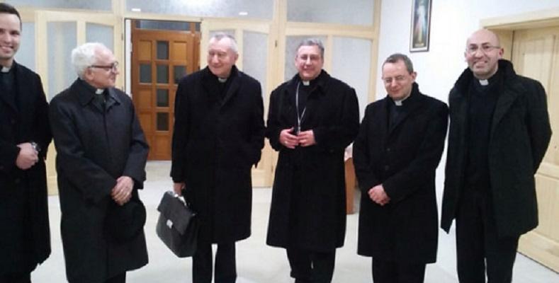 Државниот секретар на Ватикан пристигна во Македонија