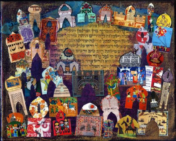Евреите го слават Пурим, највеселиот празник