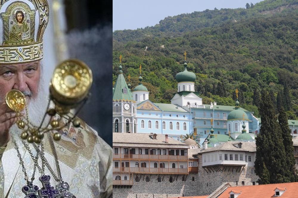 Рускиот патријарх во мај на Света Гора