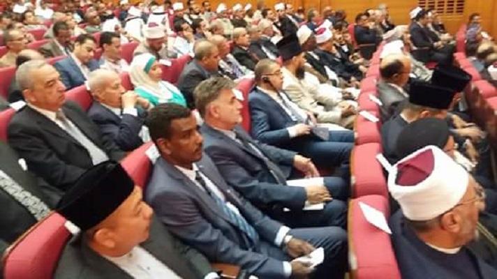 Деканот на исламскиот теолошки факултет на светска конференција во Египет