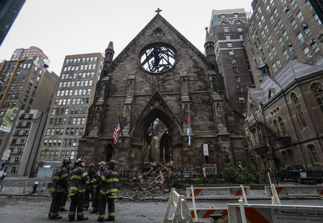 Пожарот во црквата на СПЦ во Њујорк е сомнителен