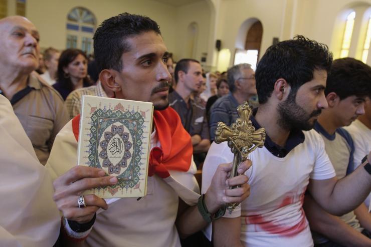 Меѓуверска молитва за мир на Блискиот исток