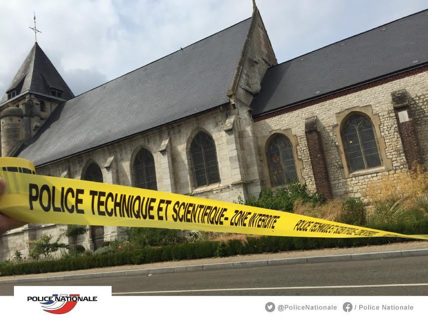 Идентификуван и вториот напаѓач во француската црква