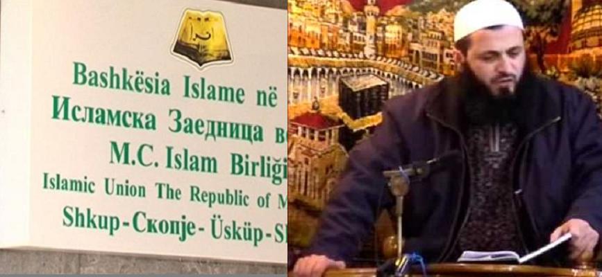 Имамот Садула Бајрами нелегално зборува за шеријатот во незаконски објект