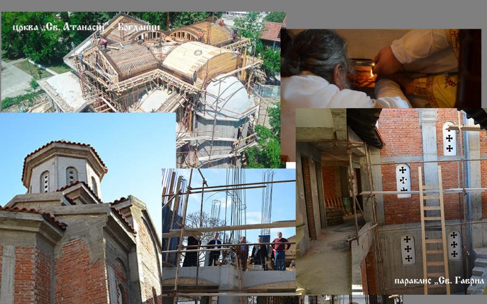 Години на црковни градби во Повардарската епархија