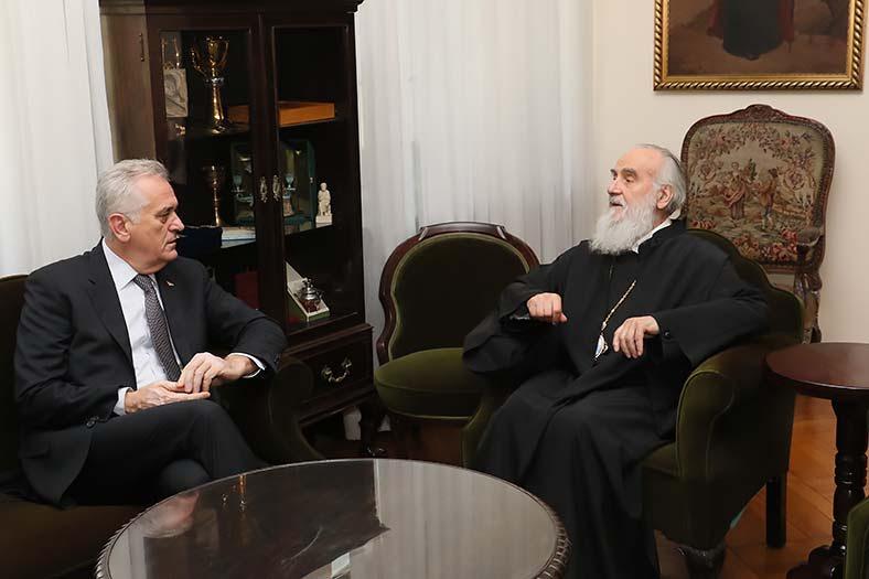 Ќе дојде ли Српскиот Патријарх Иринеј во Македонија во септември?