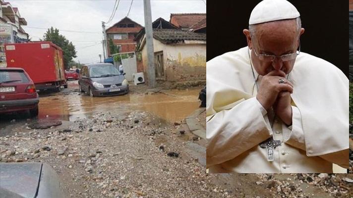Папата Франциск сочуствува со трагедијата во Македонија