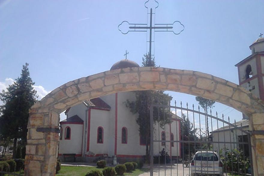 Чудо во црквата Св. Ѓорѓија во Сингелиќ- најлон го спасил крстот стар 100 години од поплавата