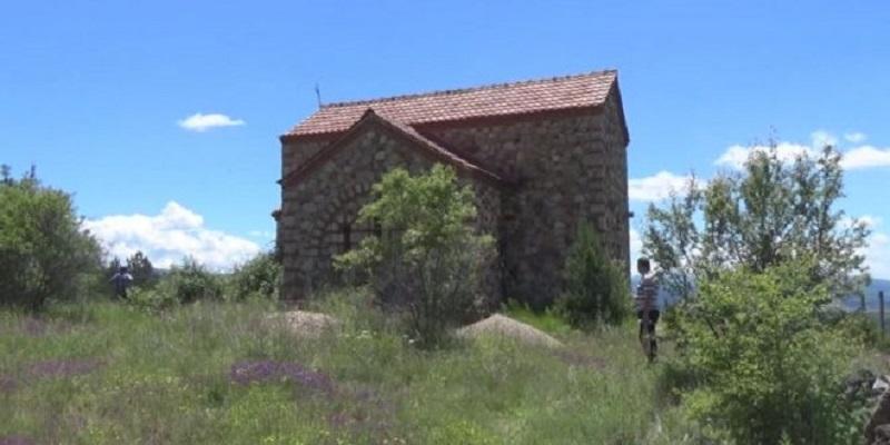 До манастирот Света Петка во Пехчево, отсега по асфалт