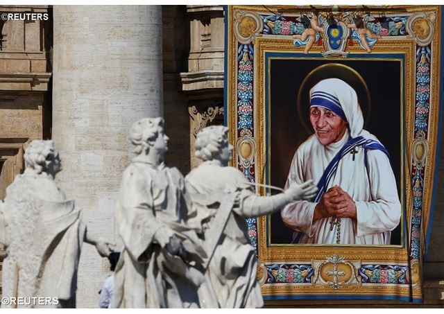 Денеска е Света Мајка Тереза од Калкута