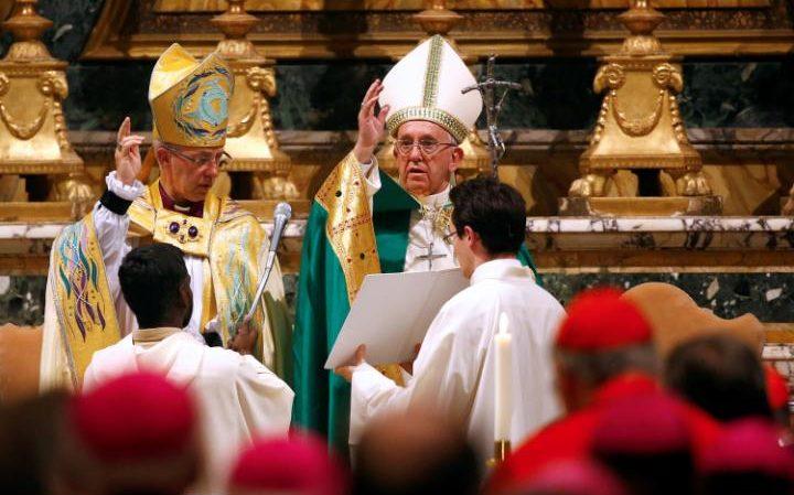 Средба меѓу поглаварите на Католичката црква и на Англиканската црква