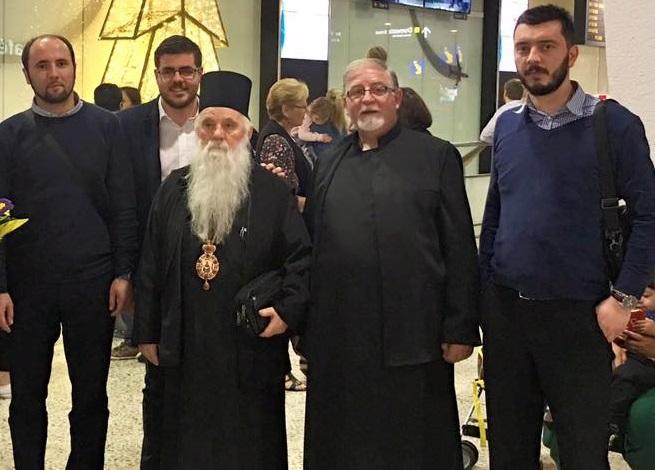 Митрополитот Тимотеј за Божик и Водици со Македонците во Австралија